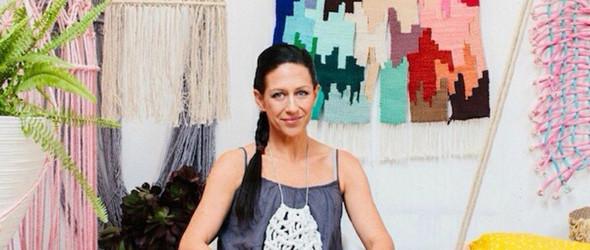 悉尼手工设计师 Natalie 的编织工作室