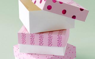 DIY基本款纸盒折叠方法和模板(附下载)