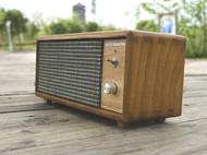 蓝牙喇叭音响 复古桌面音箱 榫卯工艺 全实木