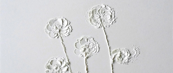 纸雕的诗 - 意大利米兰艺术家 Domitilla Biondi 的纸雕艺术
