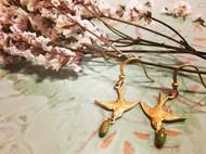 Venus&Felice 執著的精衛—黃銅耳環(可改夾式)