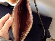 【木子加的手缝包】手拿单肩双用绣片包