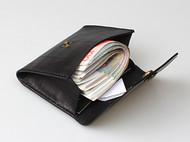 超大容量零钱包手工牛皮迷你钱包男女通用