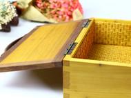 WOODIN实木北欧复古榫卯高级格调原创意手工艺礼品收纳首饰盒