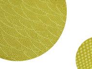 日本直邮 江户小纹染丝绸披肩 纯手工制作 有28种花纹 传统工匠师青木啓作作品 黄色款