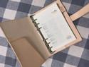 原色植鞣皮笔记本制作