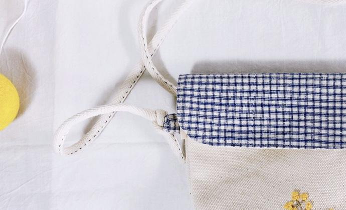 屿物YUWUU手工刺绣mini包