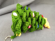 【MM018]圣诞树钩针钥匙圈