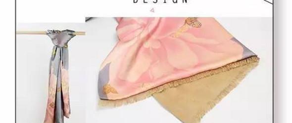 Champur Design丨这是一条蝶儿舞动、花香四溢的围巾