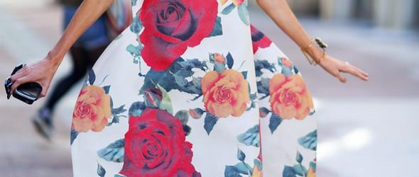 不止于花丛中,鲜花都盛开在她身上了——全世界最会穿衣服的女人Taylor Tomasi Hill