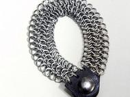 圈圈串圈圈不鏽鋼圈編織手鍊
