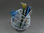 孜孜不倦 | 艺术笔筒 | 艺术收纳篮 | 桌面艺术