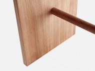 静研设计北欧日式简约全榫凳餐凳吧椅长条凳红橡木胡桃木实木