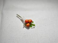 【兔兔酱手作:果实胸针/别针。】森系必备 小花束 仿真迷你 浆果