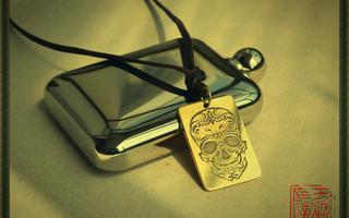 纯手工蚀刻——各种黄铜吊牌手镯等物件