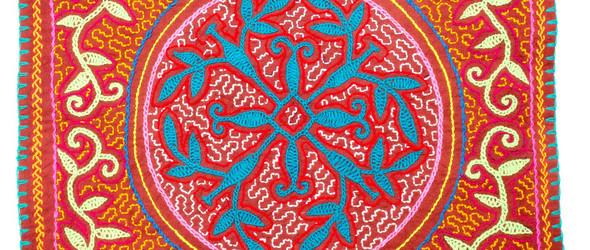 神秘的秘鲁Kené装饰艺术与希皮博人刺绣(Shipibo)