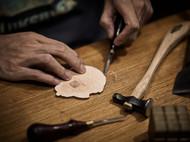 DIY皮具烫印logo的小技巧