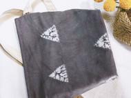 屿物YUWUU原创设计植物茶染森林几何包女单肩斜挎棉麻小包简约系文艺