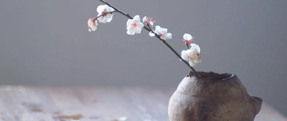 安静的花道与器物 | 古美術 萬や のゆき