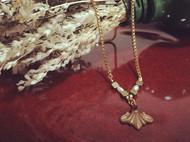 Venus&Felice 秘寶(可客製長度)-洛可可風古董紅寶石珍珠項鍊