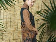 来自岭南的莨纱绸,氤氲流转的中式味道