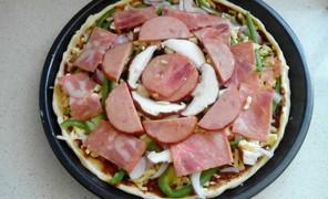 好几年没做披萨了,还没忘,不过