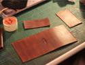 手工皮革教程:一个卡包的诞生