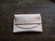 极简植鞣牛皮名片包小钱包