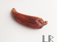 【LR ART】独立设计 黄花梨 超惊艳花纹 吊坠 把件