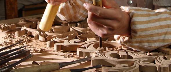 那些让你惊艳的木雕