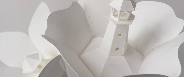Vera van Wolferen :纸雕