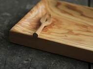 手工制橄榄木日式果子盘(点心盘)