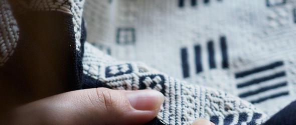 津軽こぎん刺 / 日本青森津轻传统工艺小巾刺绣(Kogin)