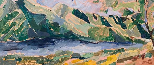 跟随艺术家Margaret Jeane的画作,回归自然之中