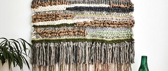 从珠宝设计到挂毯织造:澳大利亚手工艺人 Tammy Kanat 的挂毯编织之路