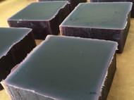 冷制手工皂 紫草皂 非皂基肥皂 无精油无修饰 洗澡洁面祛痘 70克左右