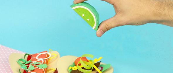 非吃货创作的美食纸雕,却让人垂涎欲滴 | 美国动画师Samuel Shumway作品集