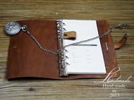 A6反毛植鞣革笔记本