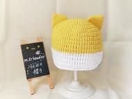 【原创手工定制】柴犬宝宝帽子/毛线帽/编织帽
