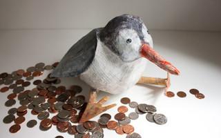 废物利用 - 废纸小鸟零钱罐(储钱罐)diy教程
