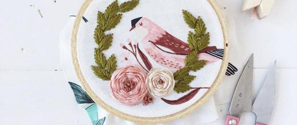 刺绣与拼布 | Cheri Lehnow