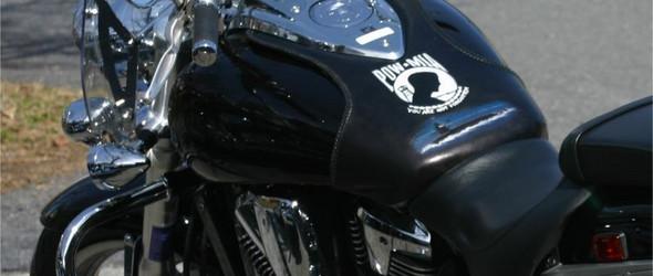 摩托车油箱皮革(皮雕)保护罩制作过程欣赏