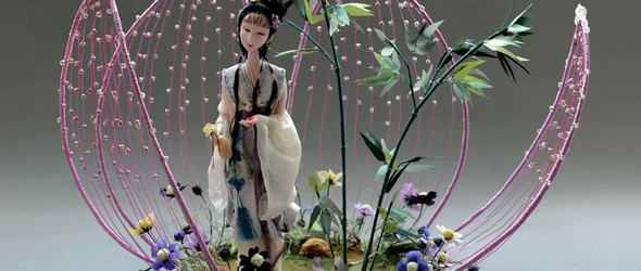 创作记 | 彼岸的才情,此岸的贤德 - 软雕塑创作之「林黛玉」与「薛宝钗」
