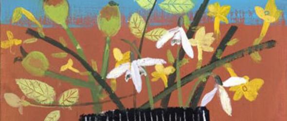 横跨绘画和音乐的英国艺术家Elaine Pamphilon(绘画作品集)