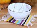 手工编织杯垫