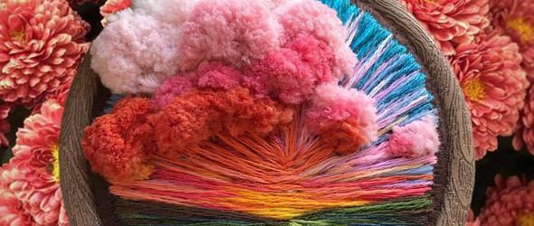 针尖上的风景画 | 用针线编织世界的Vera Shimunia