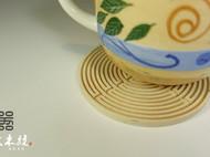 【造器】木杯垫 迷宫