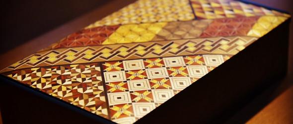 寄木細工   木片拼花工艺,几何图形的规整与魅力