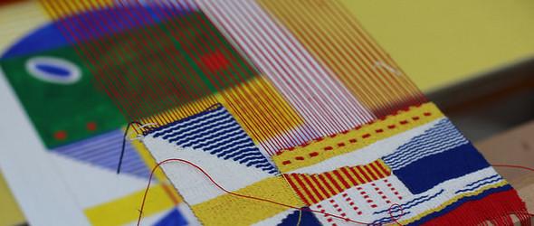 包豪斯设计风的编织艺术 | Hannah Waldron