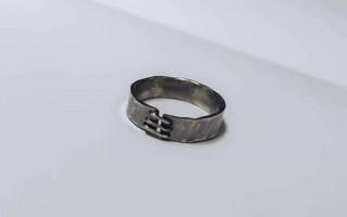 【每周首饰DIY-03期】铆钉戒指,图文教程,每周抽奖